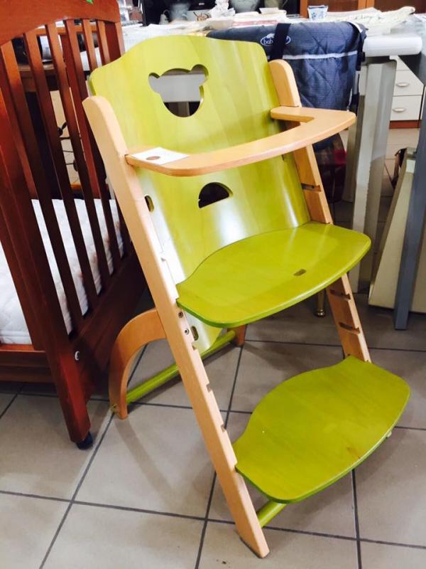 sediolone legno
